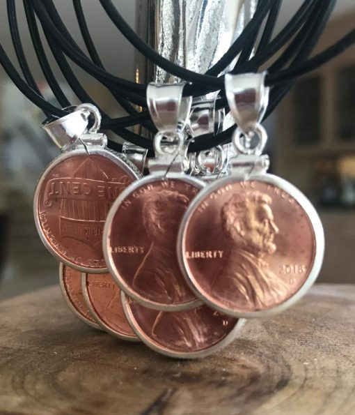 Melissa C Mark Jewelry Lucky Penny Necklace