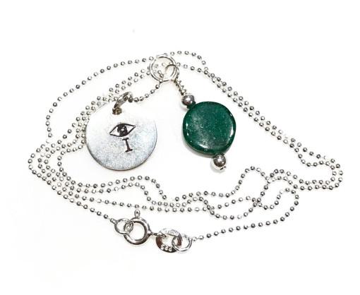 Melissa C Mark Jewelry Aventurine I AMuleT