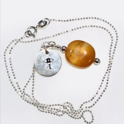 Melissa C Mark Jewelry Carnelian I AMuleT