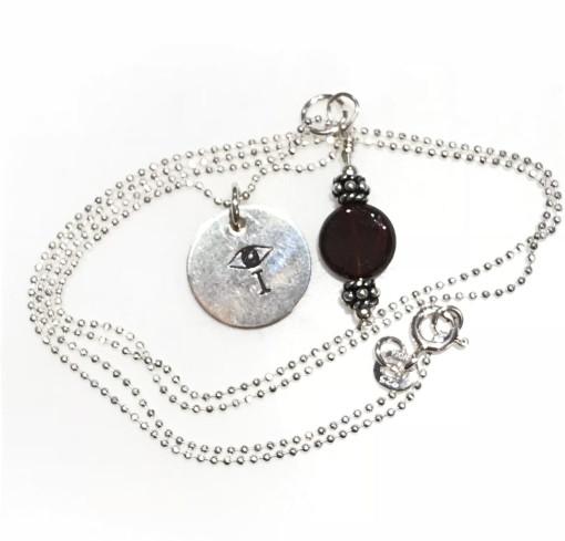 Melissa C Mark Jewelry Garnet I AMuleT