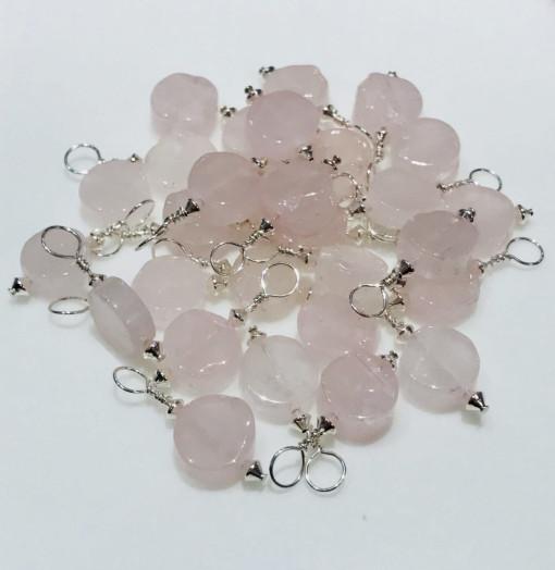 Melissa C Mark Jewelry - Rose Quartz I AMuleT Pendants