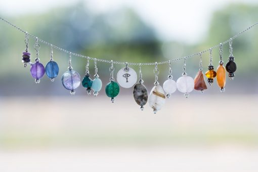 Melissa C Mark Jewelry - String of I AMuleT pendants
