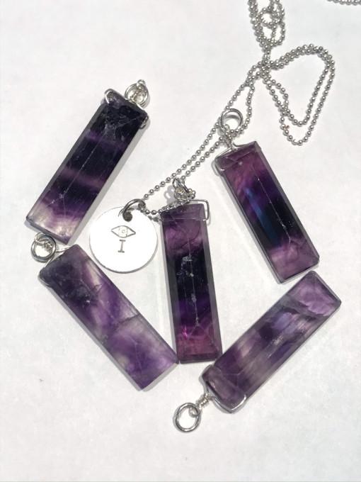 Melissa C Mark Jewelry Fluorite I AMuleT